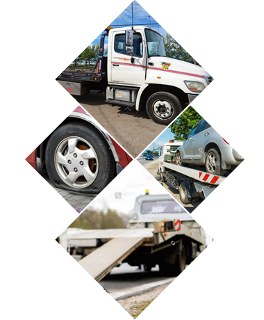 Towing Service Collage